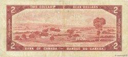 2 Dollars CANADA  1954 P.076b TB