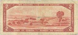 2 Dollars CANADA  1954 P.076c B+