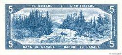 5 Dollars CANADA  1954 P.077a pr.NEUF