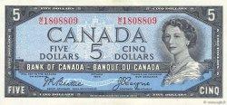 5 Dollars CANADA  1954 P.078 SUP