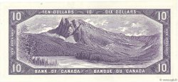 10 Dollars CANADA  1954 P.079b SPL