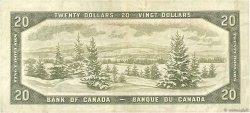 20 Dollars CANADA  1954 P.080b TTB