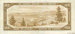 100 Dollars CANADA  1954 P.082a TTB