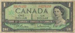 1 Dollar CANADA  1967 P.084b B+