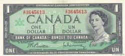 1 Dollar CANADA  1967 P.084b SUP