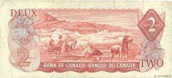 2 Dollars CANADA  1974 P.086a TB