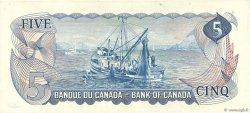 5 Dollars CANADA  1972 P.087a SPL