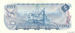5 Dollars CANADA  1972 P.087b SPL