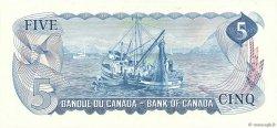 5 Dollars CANADA  1972 P.087b NEUF