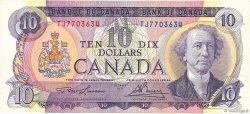 10 Dollars CANADA  1971 P.088c SPL