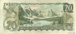 20 Dollars CANADA  1969 P.089a TB+