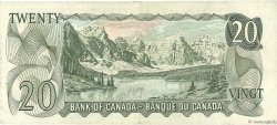 20 Dollars CANADA  1969 P.089b TTB+