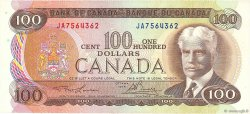 100 Dollars CANADA  1975 P.091a SUP