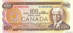 100 Dollars CANADA  1975 P.091b SPL