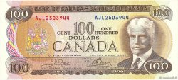 100 Dollars CANADA  1975 P.091b pr.NEUF