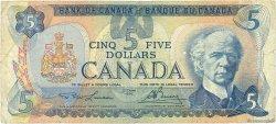 5 Dollars CANADA  1979 P.092a B+