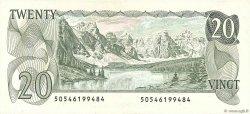 20 Dollars CANADA  1979 P.093a SPL