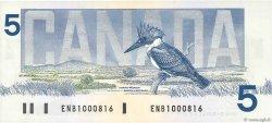 5 Dollars CANADA  1986 P.095a1 NEUF