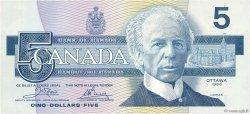 5 Dollars CANADA  1986 P.095a2 NEUF