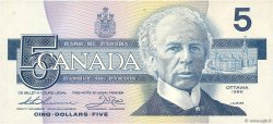 5 Dollars CANADA  1986 P.095b SUP
