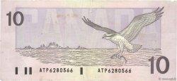 10 Dollars CANADA  1989 P.096a TB