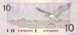10 Dollars CANADA  1989 P.096a TTB+