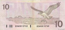 10 Dollars CANADA  1989 P.096b pr.TTB