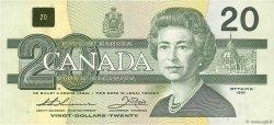20 Dollars CANADA  1991 P.097a TTB+
