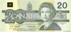 20 Dollars CANADA  1991 P.097d SUP