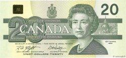 20 Dollars CANADA  1991 P.097d NEUF