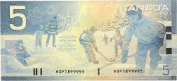 5 Dollars CANADA  2002 P.101 TTB