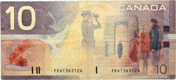 10 Dollars CANADA  2001 P.102b TTB