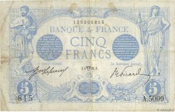 5 Francs BLEU FRANCE  1915 F.02.26 TB