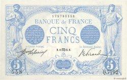 5 Francs BLEU FRANCE  1915 F.02.30 SPL