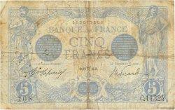 5 Francs BLEU FRANCE  1916 F.02.38 B