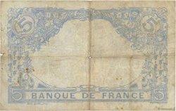 5 Francs BLEU lion inversé FRANCE  1917 F.02bis.04 B