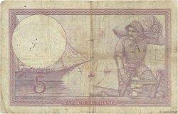 5 Francs VIOLET FRANCE  1918 F.03.02 B