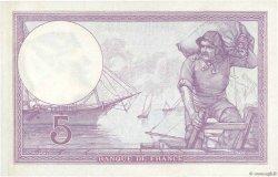 5 Francs VIOLET FRANCE  1918 F.03.02 SUP+