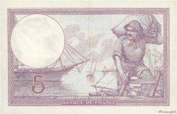 5 Francs VIOLET FRANCE  1918 F.03.02 TTB+