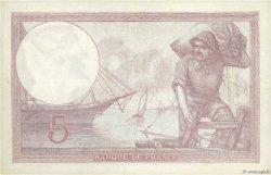 5 Francs VIOLET FRANCE  1922 F.03.06 TTB