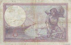 5 Francs VIOLET FRANCE  1925 F.03.09 TB