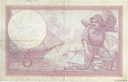 5 Francs VIOLET FRANCE  1927 F.03.11 TTB