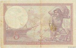 5 Francs VIOLET FRANCE  1928 F.03.12 TB+