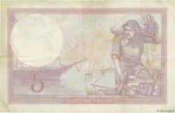5 Francs VIOLET FRANCE  1930 F.03.14 pr.TTB