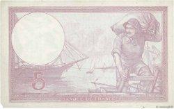 5 Francs VIOLET modifié FRANCE  1939 F.04.01 TTB