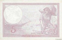 5 Francs VIOLET modifié FRANCE  1939 F.04.08 SPL+