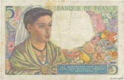 5 Francs BERGER FRANCE  1943 F.05.04