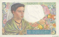 5 Francs BERGER FRANCE  1943 F.05.04 SPL
