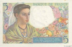 5 Francs BERGER FRANCE  1943 F.05.04 SPL
