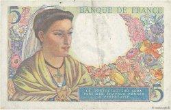 5 Francs BERGER FRANCE  1945 F.05.06 TTB